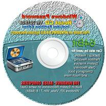 Recovery 64BIT Boot Password Reset CD Plus for Windows XP,