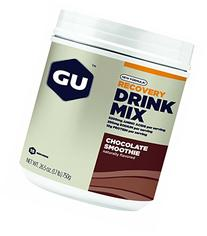 GU Recovery Drink Mix Canister Chocolate Smoothie, One Size