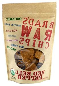 Brad's Raw Red Bell Pepper Chips 3 oz