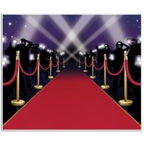 Red Carpet Insta-Mural Party Accessory