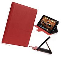 Red Dash Leather Case For Apple iPad Mini , iPad Mini 3