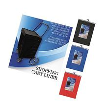 Red Deluxe Heavy Duty Shopping Cart Liner