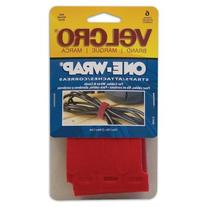 Velcro Usa Consumer Pdts 90475 6-Pack 1/2 x 11-Inch Red Velcro Get-A-Grip Work Strap - Quantity 6