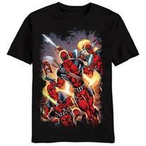 Deadpool - Red Masked T-Shirt