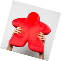 Red Meepillow - The Meeple-Shaped Plush Pillow! Perfect for