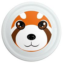 "Red Panda Face Novelty 9"" Flying Disc"