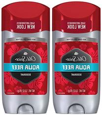 Old Spice Red Zone Deodorant, Aqua Reef - 3 oz - 2 pk