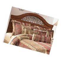 Reddish/Brown Queen/Full Panel Headboard by Ashley Furniture