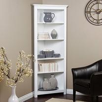 Finley Home Redford Corner Bookcase