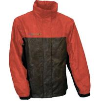 Envirofit Reflective Two Tone Rain Jacket, X-Large, Red/