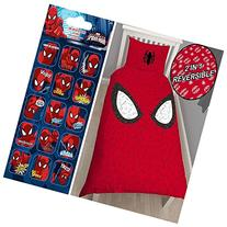 Spiderman Reflex Single/US Twin Duvet Cover Set + FREE Small