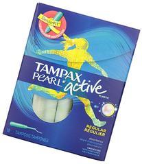 Tampax Regular Absorbency, Unscented Plastic Applicator
