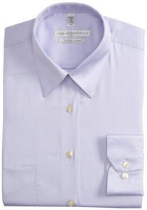 Geoffrey Beene Men's Regular Fit Sateen Dress Shirt, Light