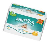 Angel Soft Regular Rolls, 24 Rolls, Pack of 4