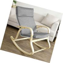SoBuy Comfortable Relax Rocking Chair, Gliders, Lounge Chair
