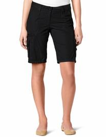 Dickies Women's 11 Inch Relaxed Cargo Short, Black, 10
