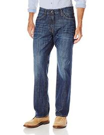IZOD Men's Relaxed Fit Jean, Medium Vintage, 32x32