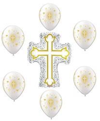 Religious Baptism Balloon Decoration Kit