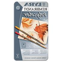 LYRA Rembrandt Polycolor Art Pencils, Set of 12, Assorted