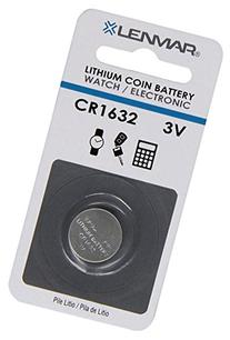 Lenmar Coin Cell Battery Replaces OEM Panasonic CR1632 Sony