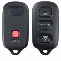 KeylessOption Just the Case Keyless Entry Remote Key Fob