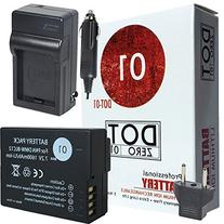 DOT-01 Brand 1600 mAh Replacement Leica BP-DC 12 Battery and