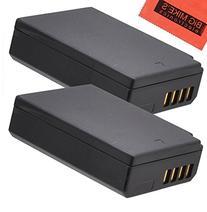 BM Premium 2-Pack of LP-E10 Batteries for Canon EOS Rebel T3