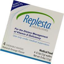 Replesta Tabs Chewable Wafers, Natural Orange Flavor, 4