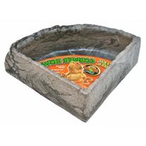 Zoo Med Reptile Rock Corner Water Dish, Large - Assorted