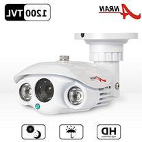 ANRAN High Resolution 1200TVL CCTV Camera with SONY CMOS