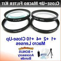 37mm Digital High-Resolution Close-Up Macro Filter Set with