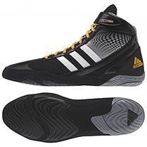 Adidas Response 3.1 Wrestling Shoes - Black/Grey/White/Solar