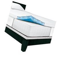 Serta Rest 3 Inch Twin Gel Memory Foam Mattress Topper - 75