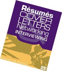 resumes cover letters networking and interviewing eischen Rent textbook resumes, cover letters, networking, and interviewing by eischen, clifford w - 9781111820848 price: $6943.