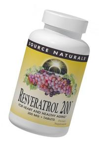 Source Naturals Resveratrol 200mg, 120 Tablets by Source