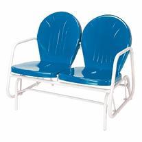 Jackpost Retro Glider, Blue, 1 ea