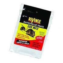 Revenge Baited Glue Trays For Mice 4 Pack