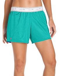 Champion Women's Reversible Mesh Short, Black, X-Large