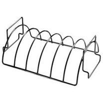 Reversible Nonstick Rib Rack, Silver