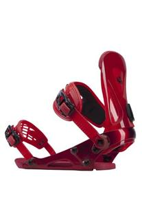 Ride Revolt Snowboard Bindings Red Mens Sz XL