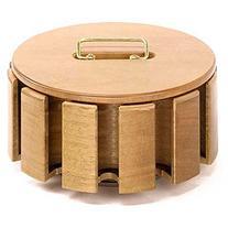Wooden Revolving Chip Holder