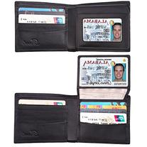 Dante RFID Blocking Stylish Leather Wallet for Men,Credit
