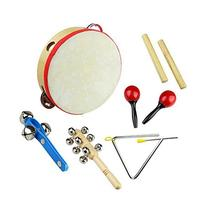 Tera 6Pcs Rhythm Percussion Music Instrument Drum Bells