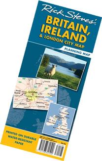 Rick Steves' Britain, Ireland and London City Map
