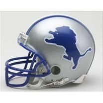 Detroit Lions 1983-2002 Throwback Replica Mini Helmet w/ Z2B