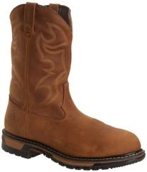 Rocky Men's Original Ride Aztec Ch Work Boot,Crazy Horse,10.