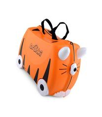 Trunki Ride-On Suitcase Tipu Tiger-ORANGE-One Size