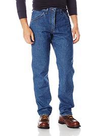 Wrangler Men's Riggs Workwear Relaxed Fit Jean, Medium Fade
