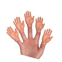 Finger Hands 5 Pieces ALL RIGHT HANDS