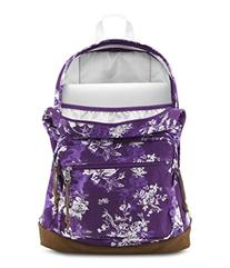 Jansport Right Pack Expressions Vivid Purple Floral Toile